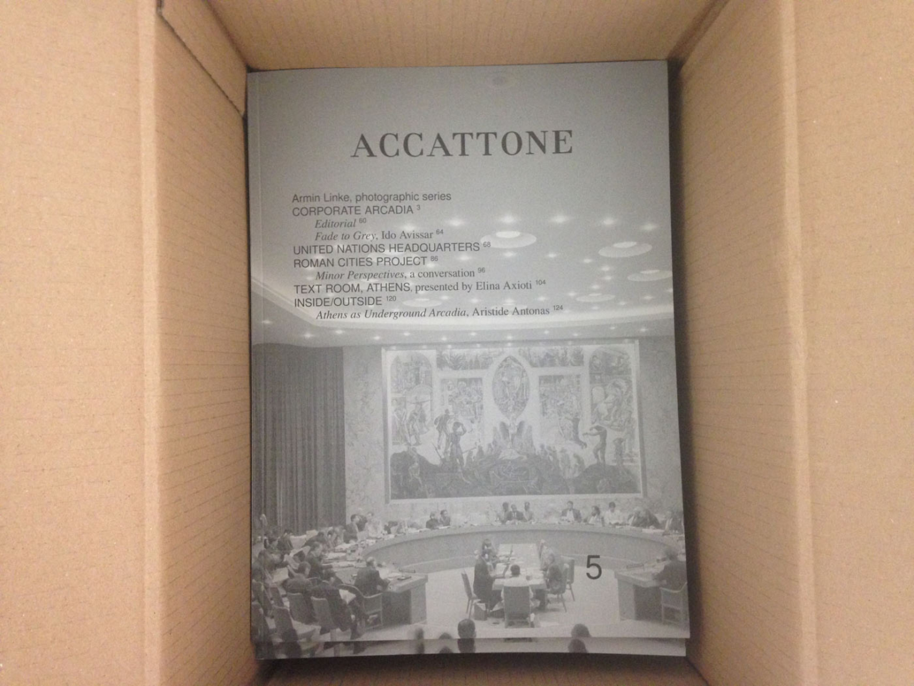 ACCATTONE ISSUE 5